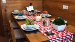 Alpine Dining Table, Avoriaz Chalets
