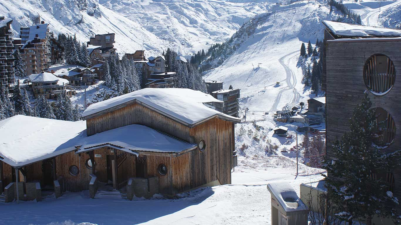 Ski-up chalets in Avoriaz