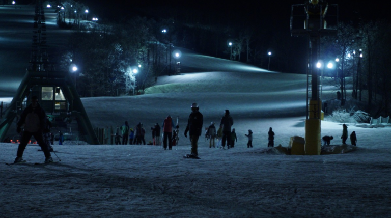 Night Skiing Avoriaz