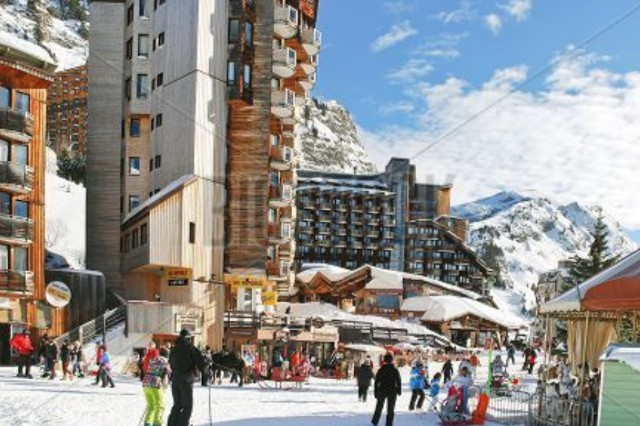 Avoriaz ski-in-ski-out