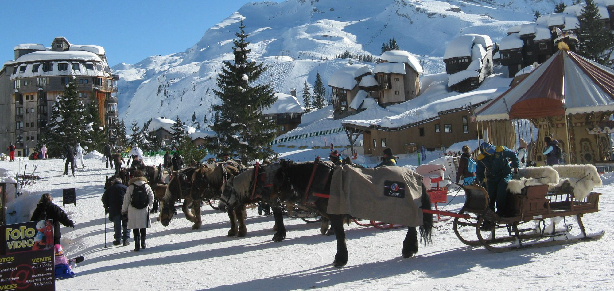 Getting to Avoriaz